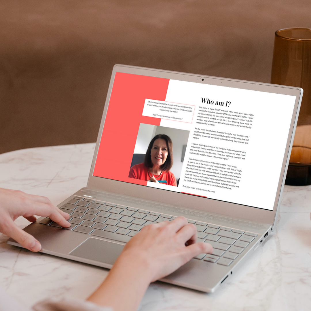 ACODYNA Website Design - The Tracy Braniff Project